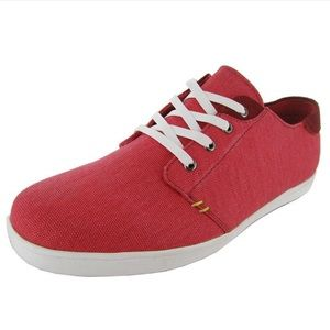 Steve Madden 11 Red Tacoma Lace Up Sneaker